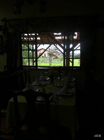 Hosteria Caballo Campana : Vista del Comedor