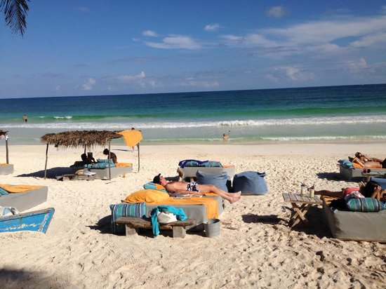 BeTulum Restaurant and Lounge : The Perfect View
