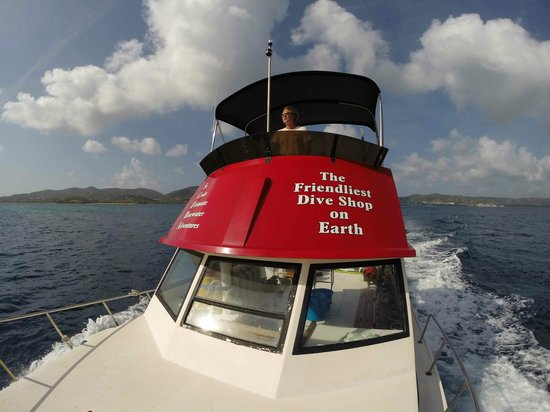 St. Croix Ultimate  Bluewater Adventures (SCUBA), Inc. : The Boat