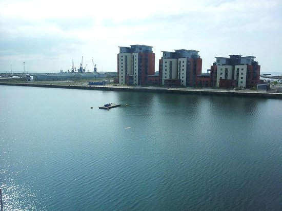 Premier Inn Swansea Waterfront Hotel: view from room