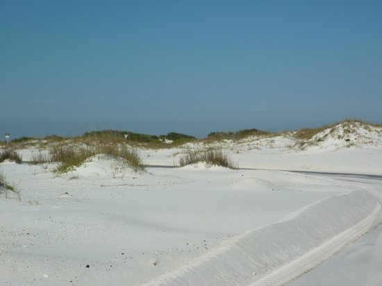Gulf Islands National Seashore - Florida District: Sandy dunes
