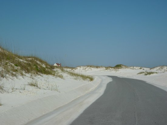 Gulf Islands National Seashore: Dunes along the seashore
