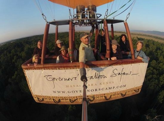 Governor's Camp: The Hot Air Balloon ride is a MUST!
