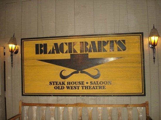Black Barts Steakhouse: Entrance