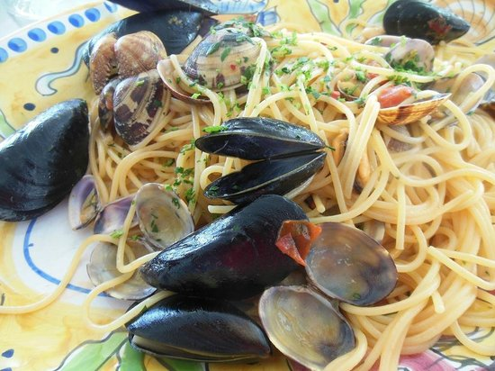 Ristorante L'Isola del Pescatore : spaghetti allo scoglio