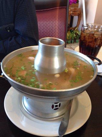 Royal Thai Cuisine: Shrimp rice soup