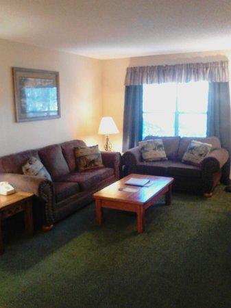 Oakmont Resort: Living rooms with sleeper sofas