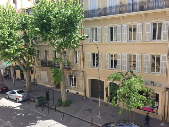 Grand Hôtel Roi René Aix-en-Provence Centre - MGallery By Sofitel : Street view from the window