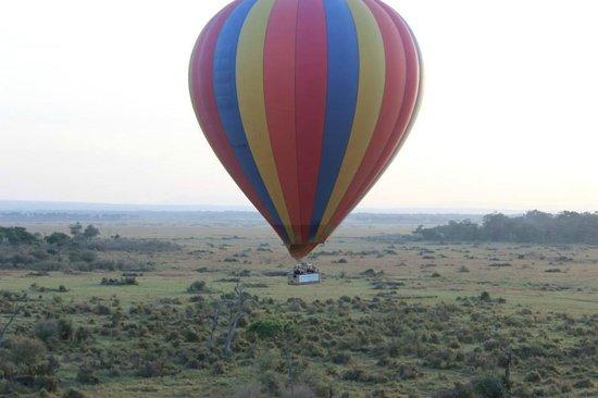 Governor's Camp: Hot Air balloon ride