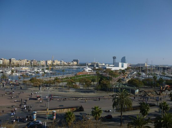 Med Apartments Barcelona: Views from the rooftop