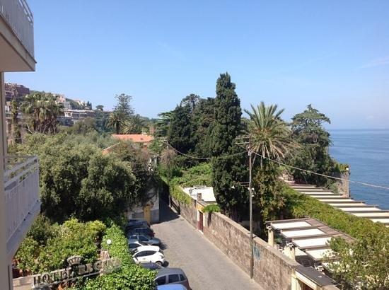 Hotel Regina Sorrento: view from the balcony