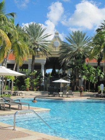 Curacao Marriott Beach Resort & Emerald Casino: Hotelanlage