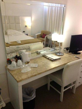 Grecian Park Hotel : In room amenities.