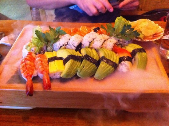 Jappi Drottninggatan: Sushi!