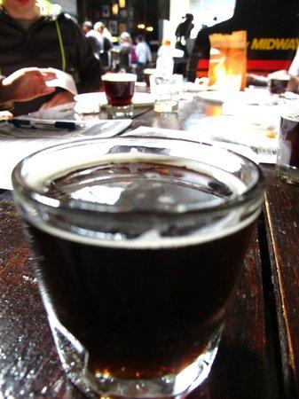 Urban Oyster Tours : Abita Imperator tasting at Barcade