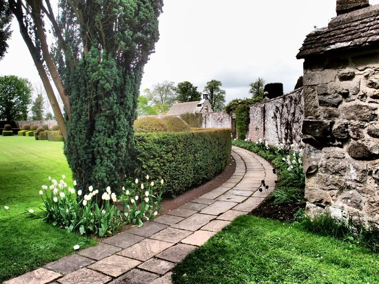 Half Moon Garden Picture Of Avebury Manor Avebury