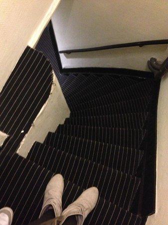 Hotel Vondel: Escalier