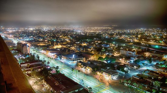 Rosarito Beach Night View