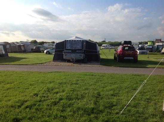 Norman's Bay Camping And Caravanning Club: view from tent