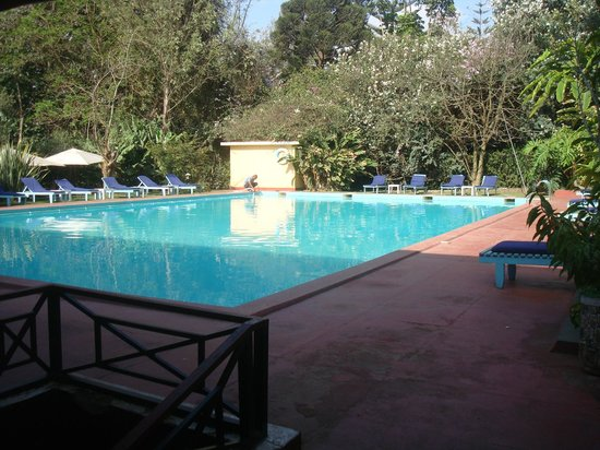 Ilboru Safari Lodge: Beautiful big pool