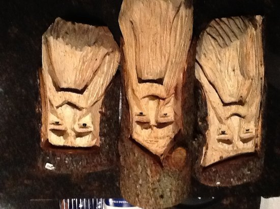 Rustic River Restaurant : And these tree guys.......