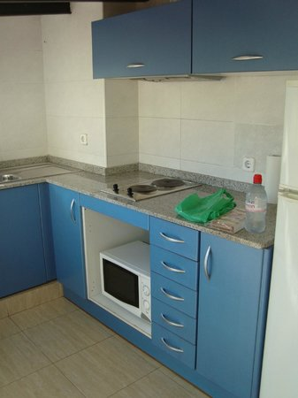 Las Ramblas Apartments: The kitchen