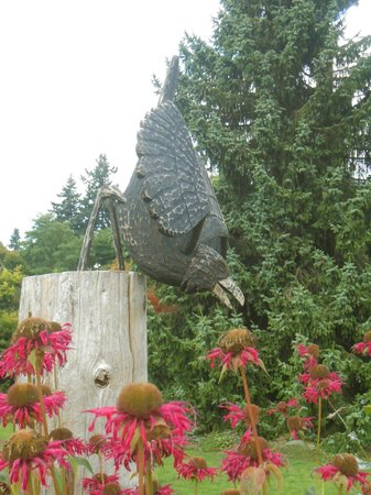 VanDusen Botanical Garden : More art in the garden