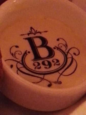 Brasserie 292: Even the butter was special