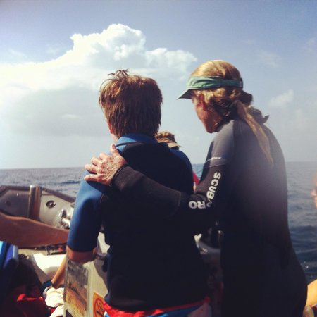 Kauai Sea Rider Snorkel & Whale Watching Tours: Learning the ropes from Tara