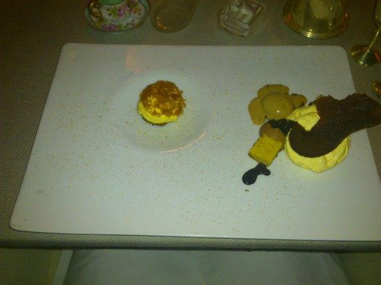 La Speranzina Restaurant & Relais: il buonissimo tiramisù scomposto