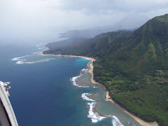 Jack Harter Helicopters - Tours : Na Pali Coast II