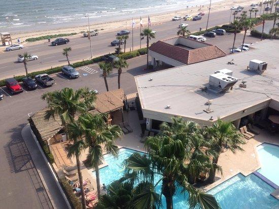 Holiday Inn Resort Galveston-On The Beach : View from 8th floor