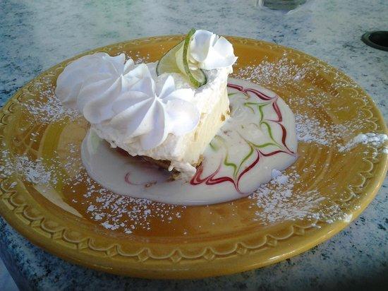 Keylime Bistro: The Key Lime Pie was gorgeous