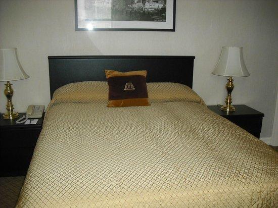 Radio City Apartments: Bed/Decor
