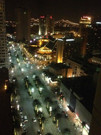 New Orleans Marriott: Nightly view from room