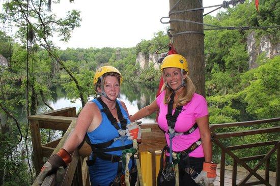 Canyons Zip Line u0026 Canopy Tours Fun ...  sc 1 st  TripAdvisor & Fun day! - Picture of Canyons Zip Line u0026 Canopy Tours Ocala ...