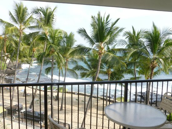 Aston Kona by the Sea : View from the living room