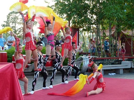 EPCOT : Chinese Acrobats