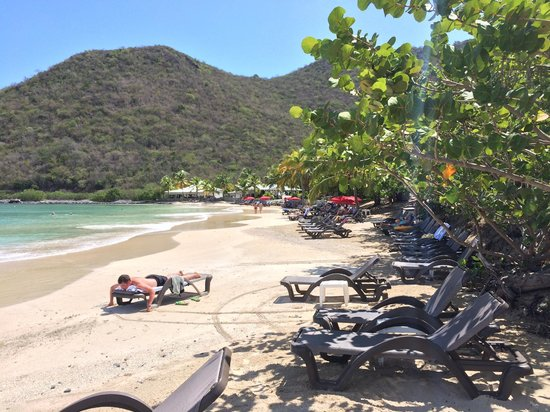Hotel Riu Palace St Martin : Private beach