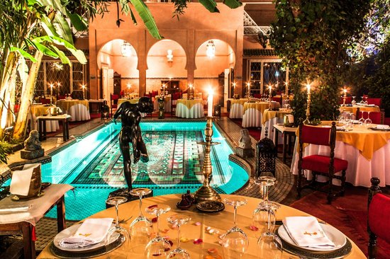 Patio jardin dar moha picture of dar moha marrakech for Restaurant jardin marrakech