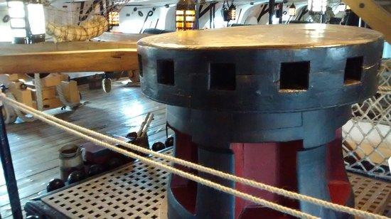 Portsmouth Historic Dockyard: Inside HMS Victory
