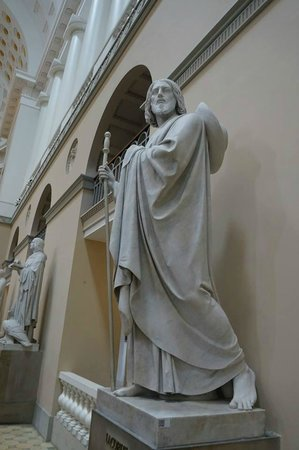 Church of Our Lady - Copenhagen Cathedral: One of the Apostles.