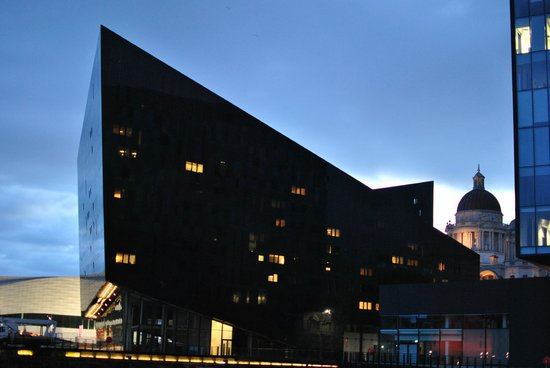 Liverpool ONE: Vista desde Canning Dock