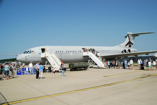 RAF Waddington Airshow: Vickers VC-10