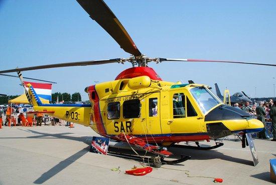RAF Waddington Airshow: RNLAF Agusta-Bell 212