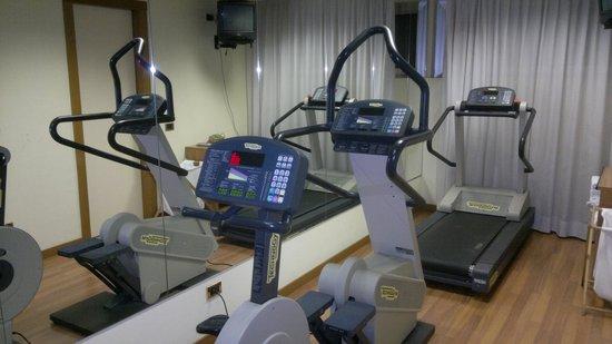 UNA Hotel Scandinavia: Sala Fitness