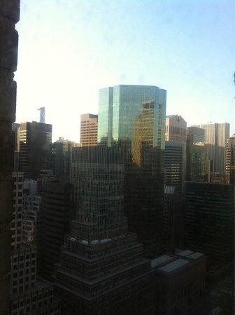 The Towers of the Waldorf Astoria: Vista dalla camera