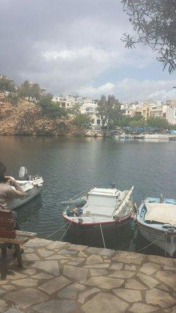 Mirabello Beach & Village Hotel : Boats at Ag Nic