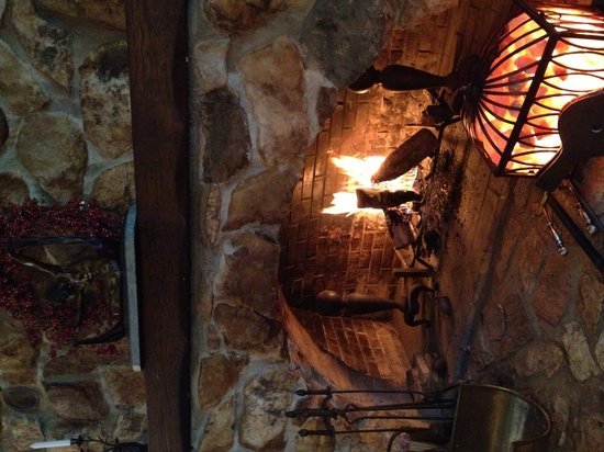 Lily Creek Lodge: The Hearth In Winter