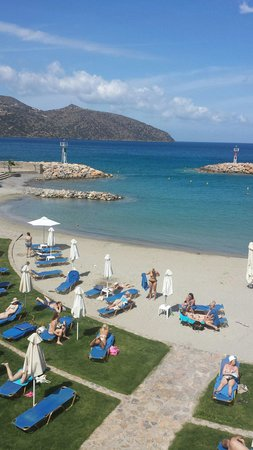 Mirabello Beach & Village Hotel : Beach area